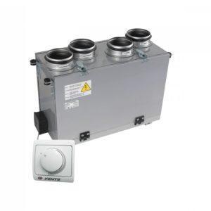 Vents ВУТ 200 В мини (пластинчатый рекуператор) (Приточно-вытяжная установка)