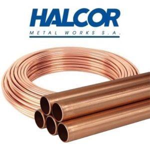 Труба медная 1/4″ HALCOR ASTM 6,35х0,71 (бухта 15м)