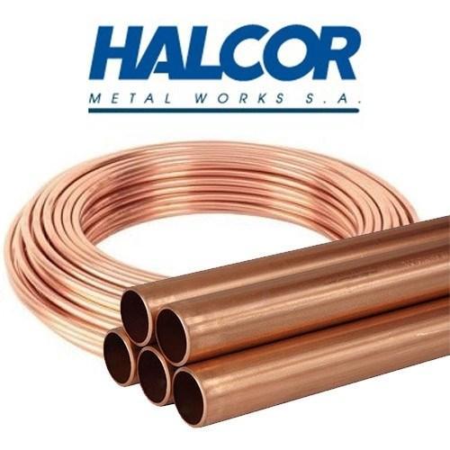 Труба медная 1 1/8″ HALCOR ASTM 28,57х1,27×3000 мм